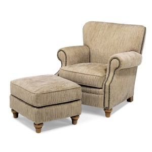 Flexsteel > Killarnery 7860 Chair and Ottoman
