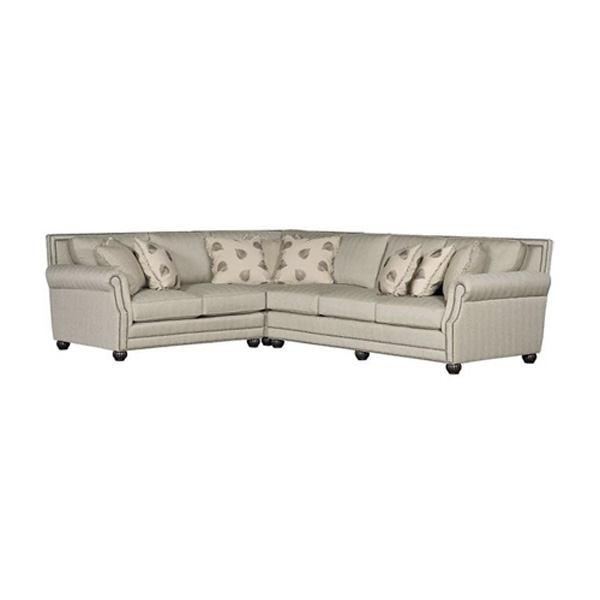 King Hickory > Julianna 3000 Fabric Sectional 2