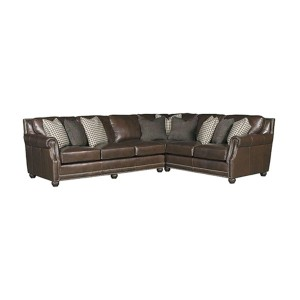 King Hickory > Julianna 3000 Leather Sectional