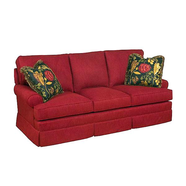 King Hickory > Chatham 5960 Sofa with Skirt