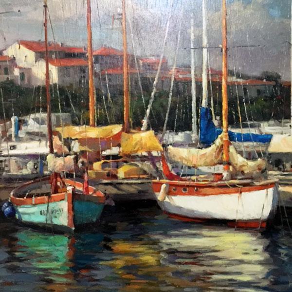 Sailboat Artwork