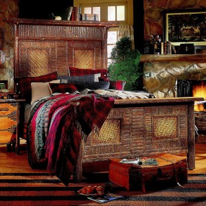 Old Hickory > Big Ranch Panel Bed