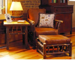 Old Hickory > Grove Park Chair and Ottoman