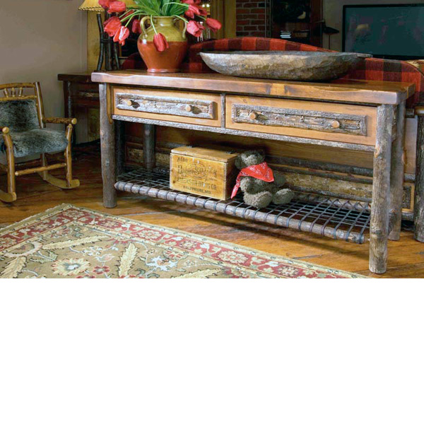 Old Hickory > Woodland Sofa Table