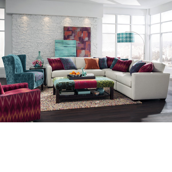 Hickorycraft > 7511 Sectional