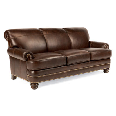 Flexsteel > B3791 Baybridge Leather Sofa
