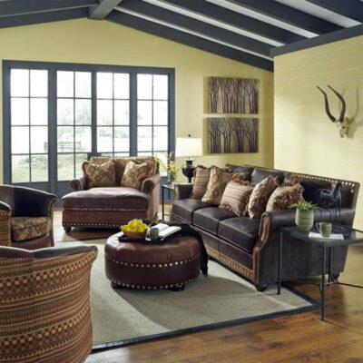 King Hickory > Julianna Leather Sofa Group