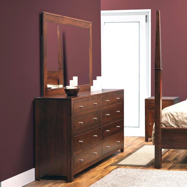 Daniel's Amish > Modern Dresser and Mirror