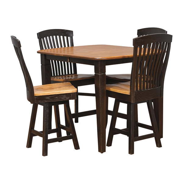 Amish America > Pub Table + Barstools