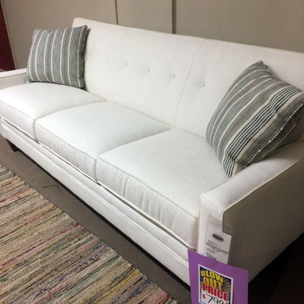 FLX > White Sofa