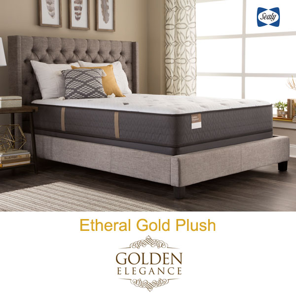 Sealy Golden Elegance > Etheral Gold Plush