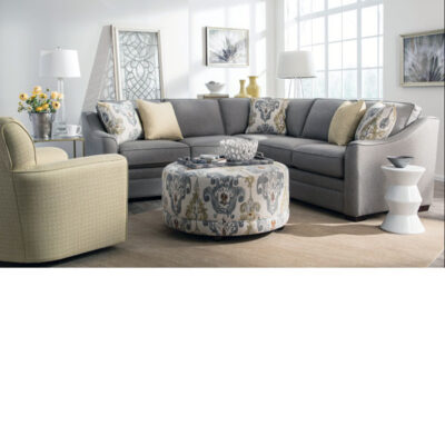 Craftmaster > F9431 Sectional + Ottoman