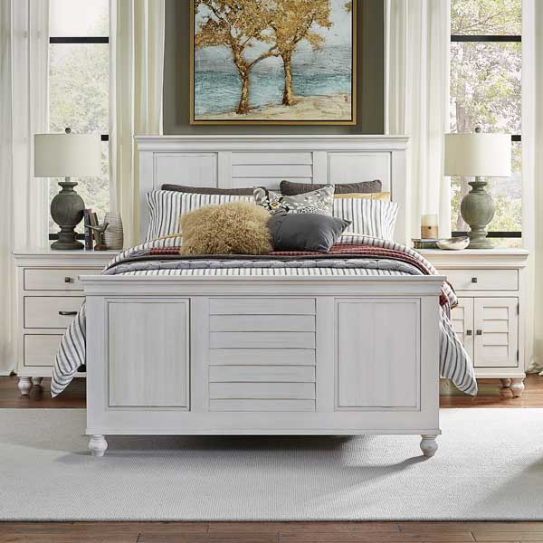Daniel's Amish > Cottage Bed White