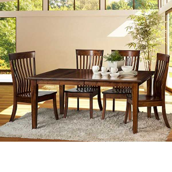 Sale > Amish Dining Set by Fusion with 6 Chairs