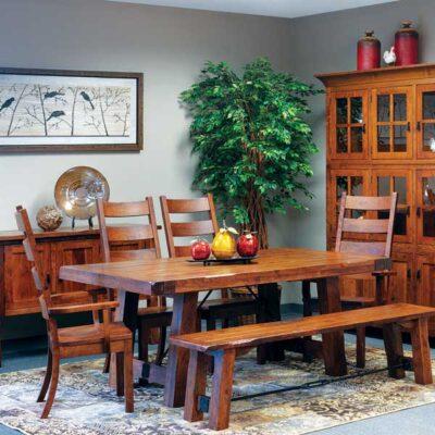 Amish > Rustic Dining Set