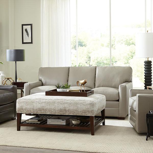 Craftmaster > L7912BD Leather Sofa