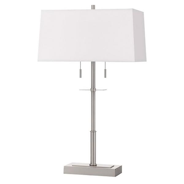 California Lighting > Modern Lamp w/ White Shade