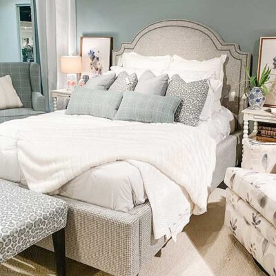 Marshfield Furniture > Upholstered Abigal Bed