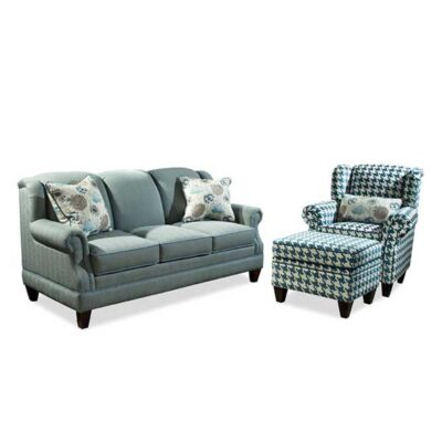 Marshfield Furniture > 2365 Cambridge Sofa, Chair + Otto