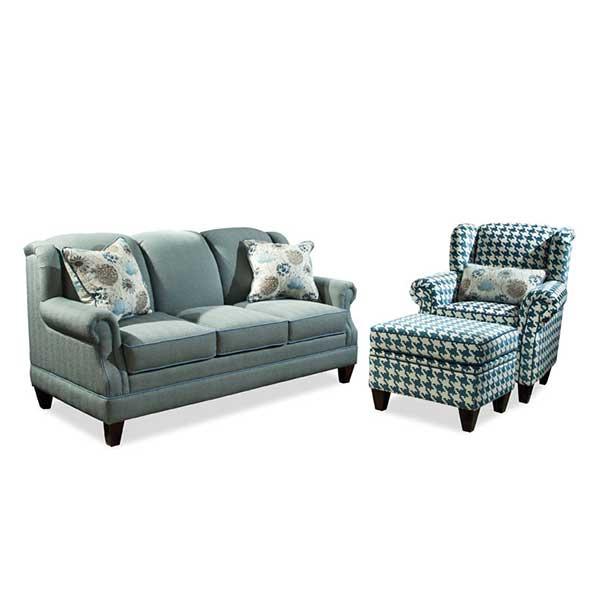 Marshfield Furniture > 2365 Cambridge Sofa, Chair + Otto