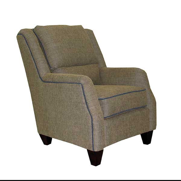 Marshfield Furniture > 2443 Russell Chair w/ Piping