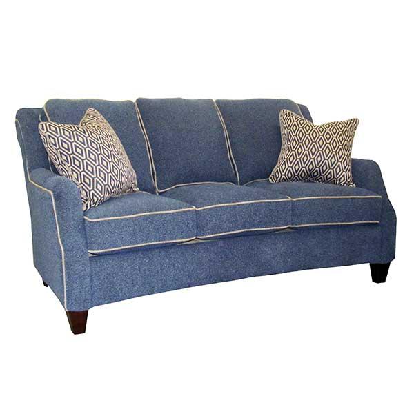 Marshfield Furniture > 2443 Russell Sofa Blue