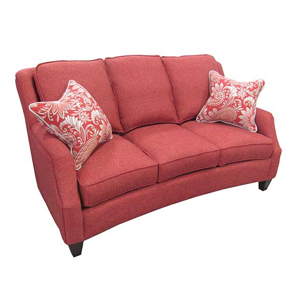 Marshfield Furniture > 2443 Russell Sofa Red