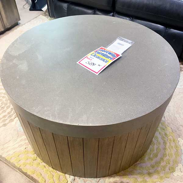 Sale Flexsteel Round Cocktail Table