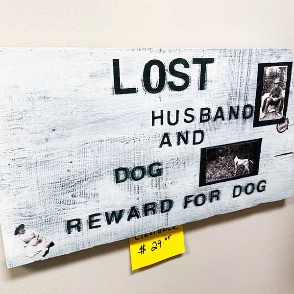 Sale Lost Sign