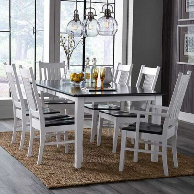 Daniel's Amish | Dining Room with Harper Copley Chairs| Fenton Home Furnishings