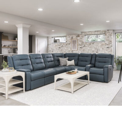 Leather Reclining Sectional | Flexsteel | Fenton Home