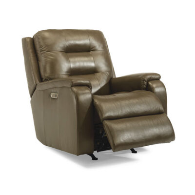 Arlo Leather Recliner | Flexsteel in Michigan | Fenton Home Furnishings.