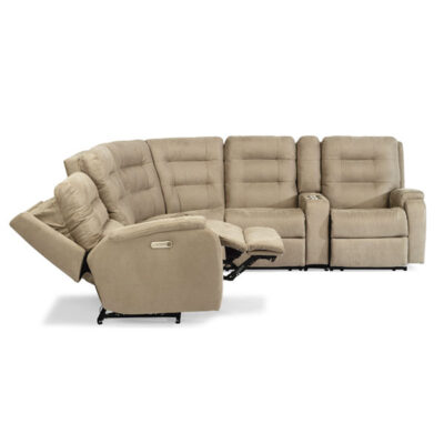 Arlo Sectional | Flexsteel in Michigan | Fenton Home Furnishings.