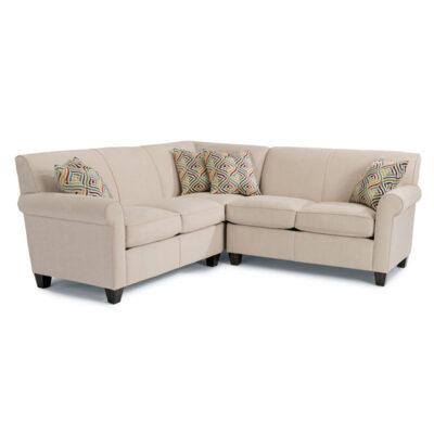Dana Sectional | Flexsteel in Michigan | Fenton Home Furnishings