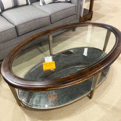 Oval Cocktail Table | Flexsteel in Michigan | Fenton Home Furnishings