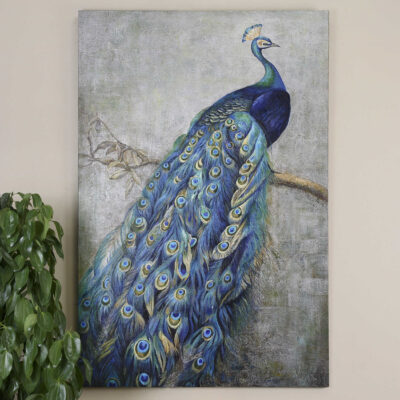 Peacock Artwork | Uttermost | Fenton Home Furnishings