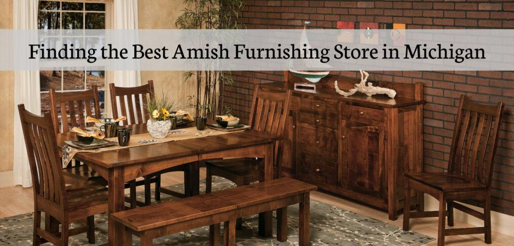Amish Furnishing Store in Michigan