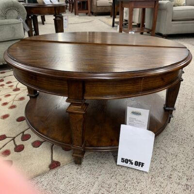 Lift Top Table Round | Fenton Home Furnishings.