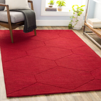 Red Rug | Surya | Fenton Home Furnishings