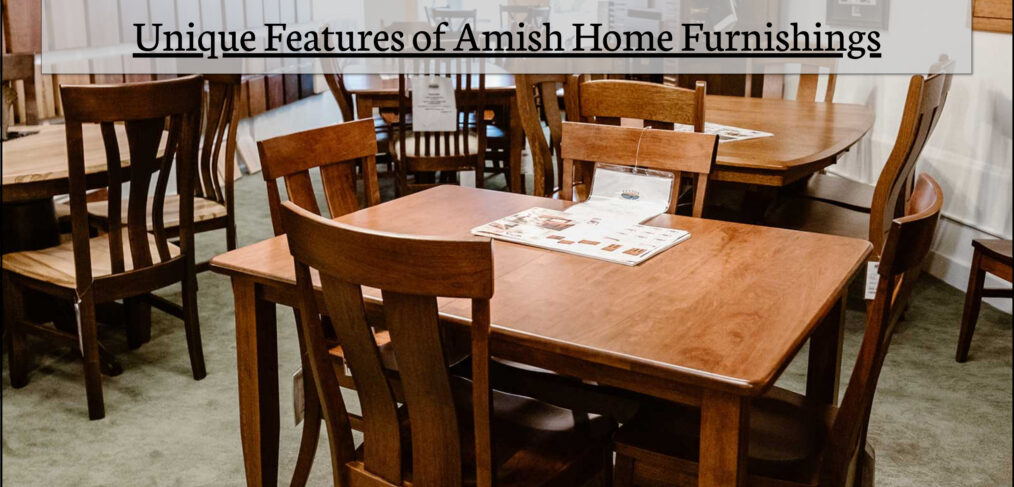 Amish Home Furnishings In MI | Furniture Stores In Michigan