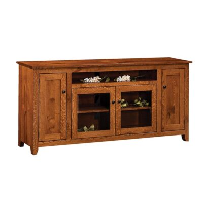 TV Stand Mission   Amish Furniture in Michigan   Fenton Home Furnishings