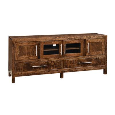 TV Console   Amish Furniture in Michigan   Fenton Home Furnishings