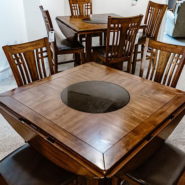Lazy Susan | Zahara Table | Winners Only | Fenton Home Furnishings